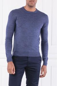 Niebieski sweter Hackett London w stylu casual