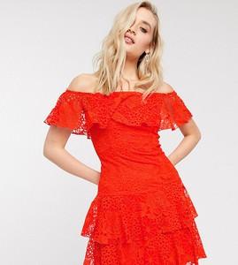 Czerwona sukienka Little Mistress mini
