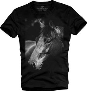 T-shirt Underworld z krótkim rękawem ze skóry ekologicznej