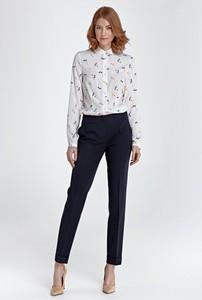 Granatowe spodnie NIFE