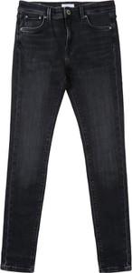 Czarne spodnie dziecięce Pepe Jeans