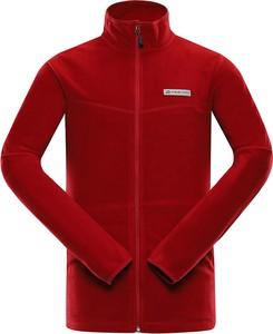 Czerwona bluza Lavard z tkaniny