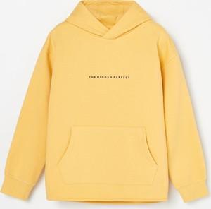 Żółta bluza dziecięca Reserved