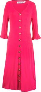Sukienka bonprix bpc bonprix collection w stylu boho