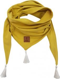 Żółty szalik dziecięcy Bexa