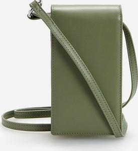 Zielony portfel Reserved