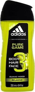 Adidas, Pure Game, żel pod prysznic, 250 ml