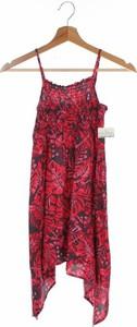 Czerwona sukienka dziewczęca Here+there