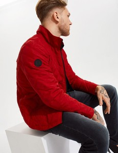 Czerwona kurtka Diverse krótka