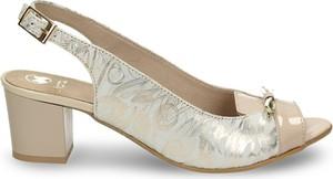 Sandały Darbut ze skóry