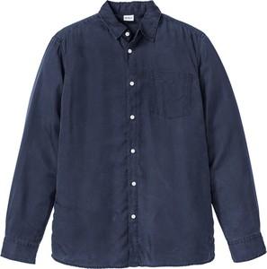 Granatowa koszula bonprix John Baner JEANSWEAR