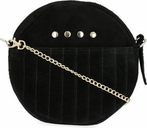 Czarna torebka VITTORIA GOTTI mała na ramię