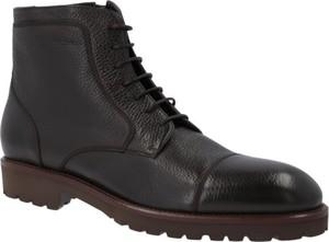 038368e8a4d6f zimowe buty męskie skórzane. - stylowo i modnie z Allani