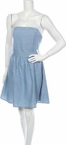Niebieska sukienka Urban Classics