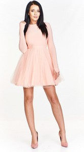 152c03f346 sukienka z dołem tiulu - stylowo i modnie z Allani