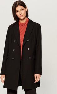 Brązowy płaszcz Mohito w stylu casual