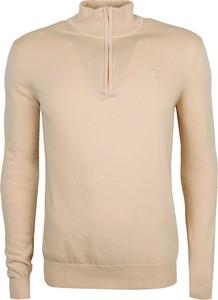 Beżowy sweter trussardi