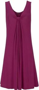 Fioletowa sukienka lascana