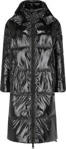Czarny płaszcz Mytwin Twinset w stylu casual
