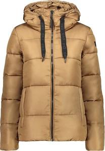 Brązowa kurtka CMP w stylu casual krótka