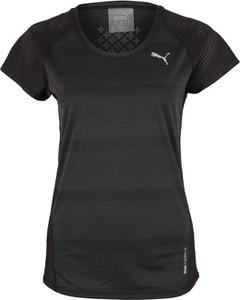 Czarna bluzka Puma z dżerseju