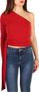 Bluzka Guess w stylu casual z długim rękawem z okrągłym dekoltem