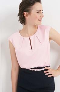 Różowa bluzka ORSAY z dekoltem typu choker