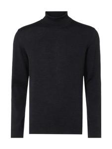 Czarny sweter Maerz Muenchen z wełny