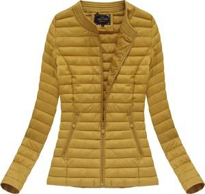 Żółta kurtka libland w stylu casual