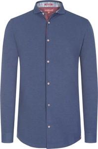 Niebieska koszula Colours & Sons z bawełny