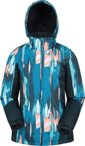 Niebieska kurtka Mountain Warehouse krótka w sportowym stylu