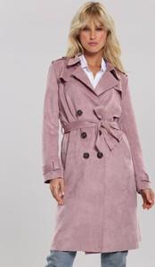 Różowy płaszcz Renee