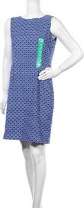 Niebieska sukienka Mario Serrani mini