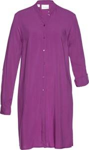 Fioletowa bluzka bonprix bpc selection w stylu casual