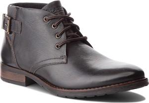 Brązowe buty zimowe Lasocki For Men w stylu casual
