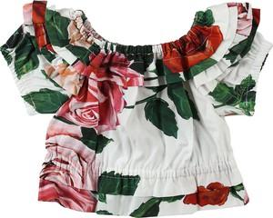 Bluzka dziecięca Dolce & Gabbana z krótkim rękawem