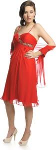 Sukienka Fokus midi rozkloszowana
