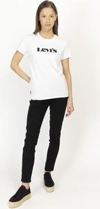 T-shirt Levis z okrągłym dekoltem z bawełny z krótkim rękawem