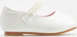 9e0320c09c białe baleriny dziecięce - stylowo i modnie z Allani