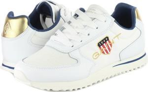 Buty sportowe Gant z płaską podeszwą