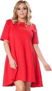 Czerwona sukienka Tessita mini