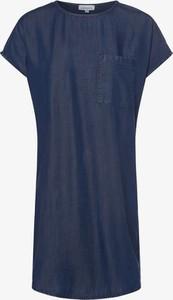 Niebieska sukienka ARMEDANGELS prosta