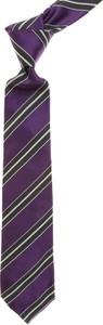 Granatowy krawat Roda