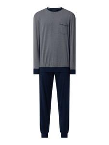 Granatowa piżama Schiesser