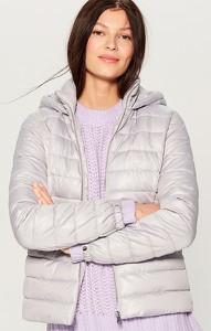Srebrna kurtka Mohito w stylu casual krótka