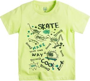 Zielona koszulka dziecięca Cool Club