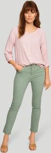 Zielone spodnie Greenpoint z bawełny