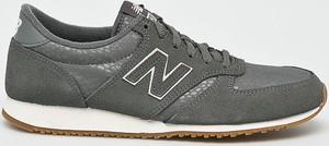 Buty sportowe New Balance ze skóry z płaską podeszwą