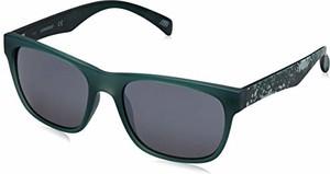 amazon.de Skechers SE6022 męskie okulary przeciwsłoneczne, zielone (matowe ciemne zielone/smoke Mirror), 55