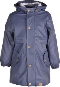 Niebieski płaszcz dziecięcy mikk-line